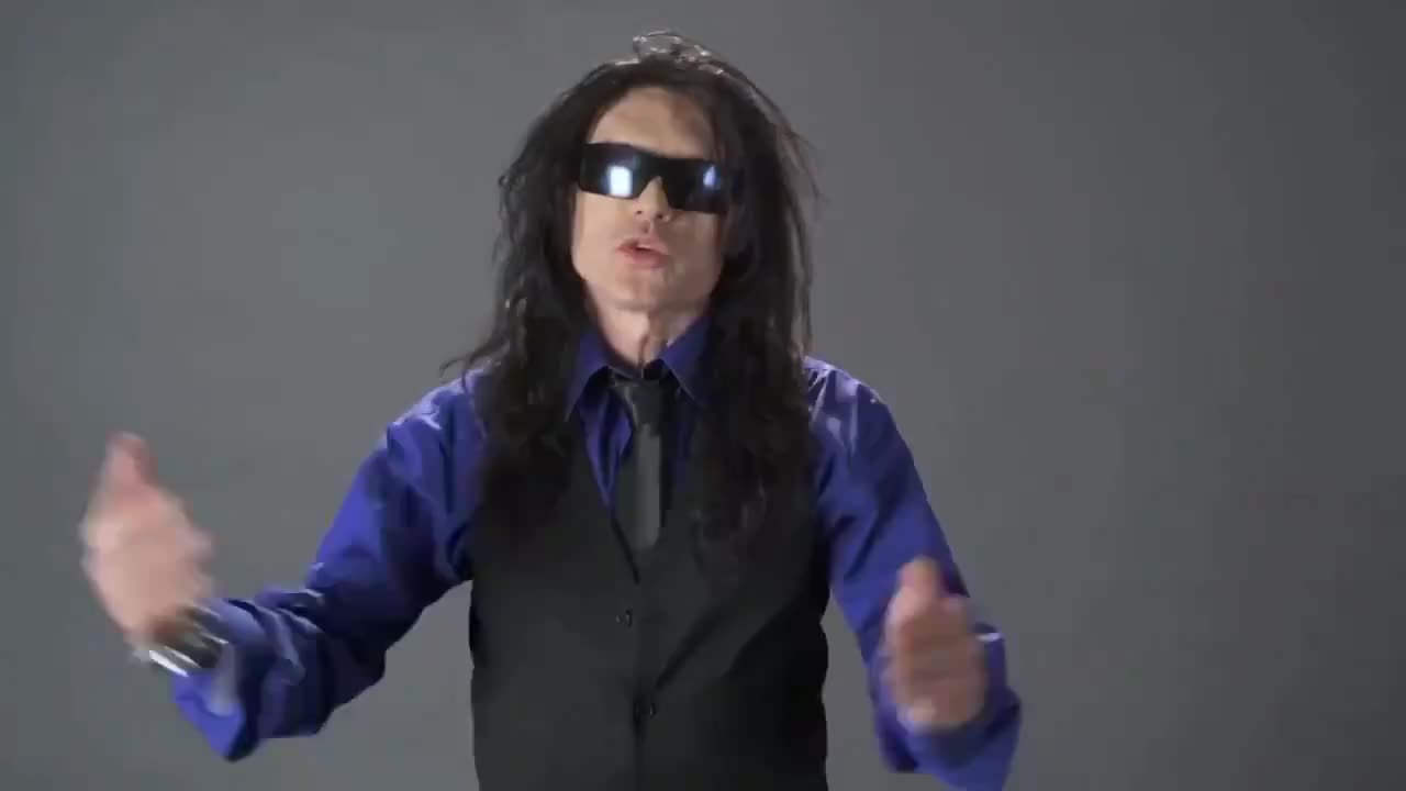incandescent frequent excited Leopard. .. Tommy Wiseau is hilarious