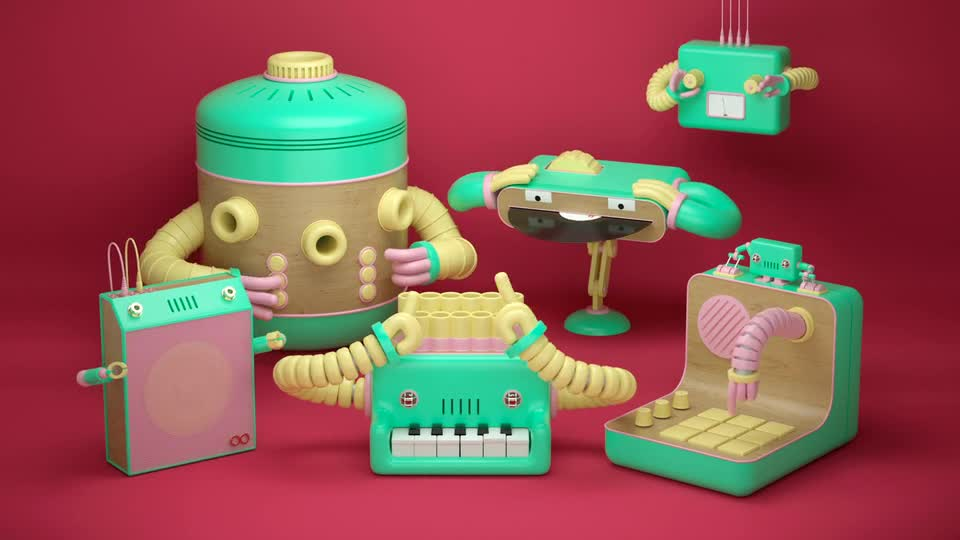 animade. .. >all those instruments
