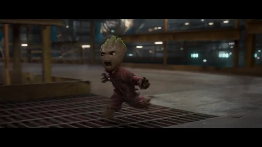Guardians of the galaxy vol.2. .. Baby Groot