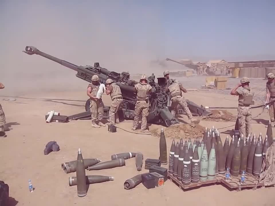 Canadian M777 howitzer in action. https://www.facebook.com/FUNKER530/videos/1292579207460379/?hc_ref=NEWSFEED join list: Combat (611 subs)Mention Clicks: 21588M