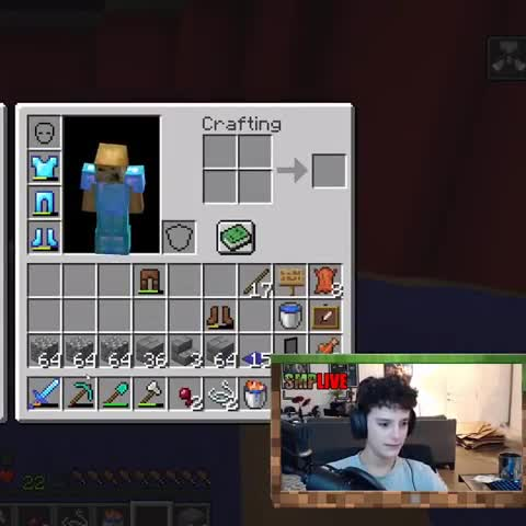 Mc bday. .. How the did that creeper get into his house?