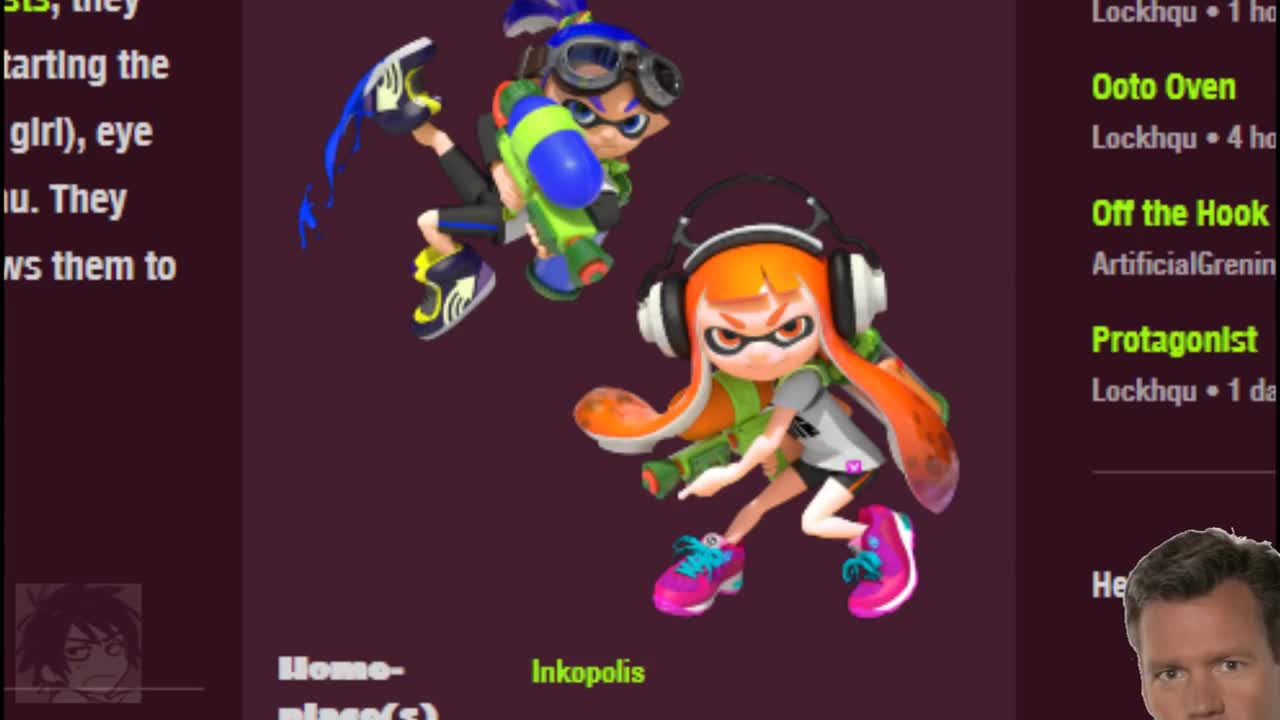 INKLING GIRLS ARE MADE FOR _______. join list: SnortingVideogames (126 subs)Mention History join list:. jesus christ that squid scream