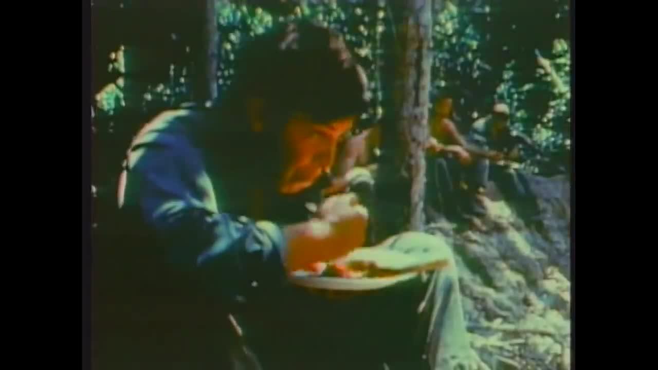 Vietnam footage again. .