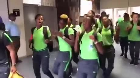South Africans showing up to world cup. .