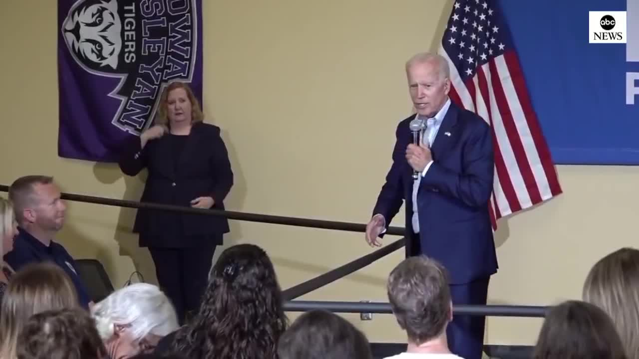 Carpe Donktum Biden. https://twitter.com/CarpeDonktum/status/1139050342853861376.. I get he's referencing a Trump tweet, but that's definitely not a soundbite you want to be caught repeating about yourself