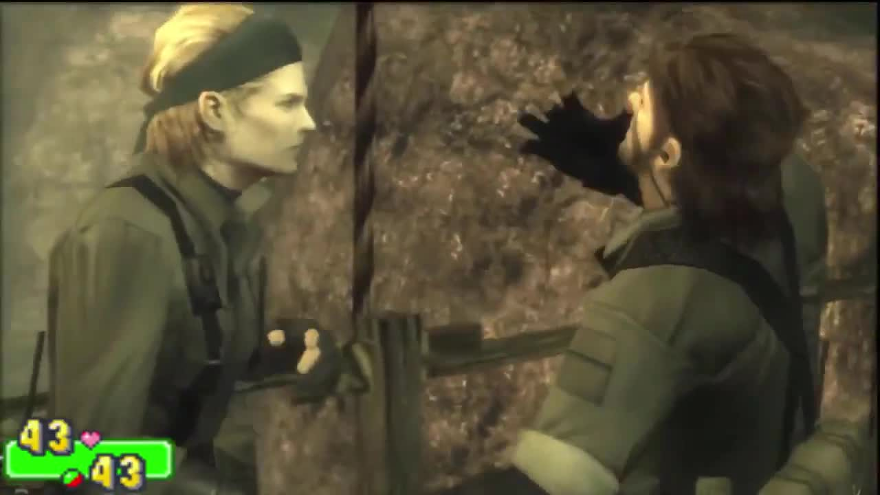 outgoing frequent Meerkat. .. (Big Boss breaking Snake's pistol twice gives me a boner every time I watch those two scenes, this game is a masterpiece. Those CQC cutscenes are beautiful)