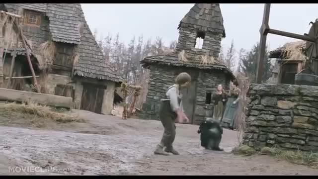 Mud monster. Source is The Brother's Grimm. Weird as movie. Kinda funny too.. This movie traumatized me as a child even though it's a pretty decent movie. This scene is still unsettling to me today