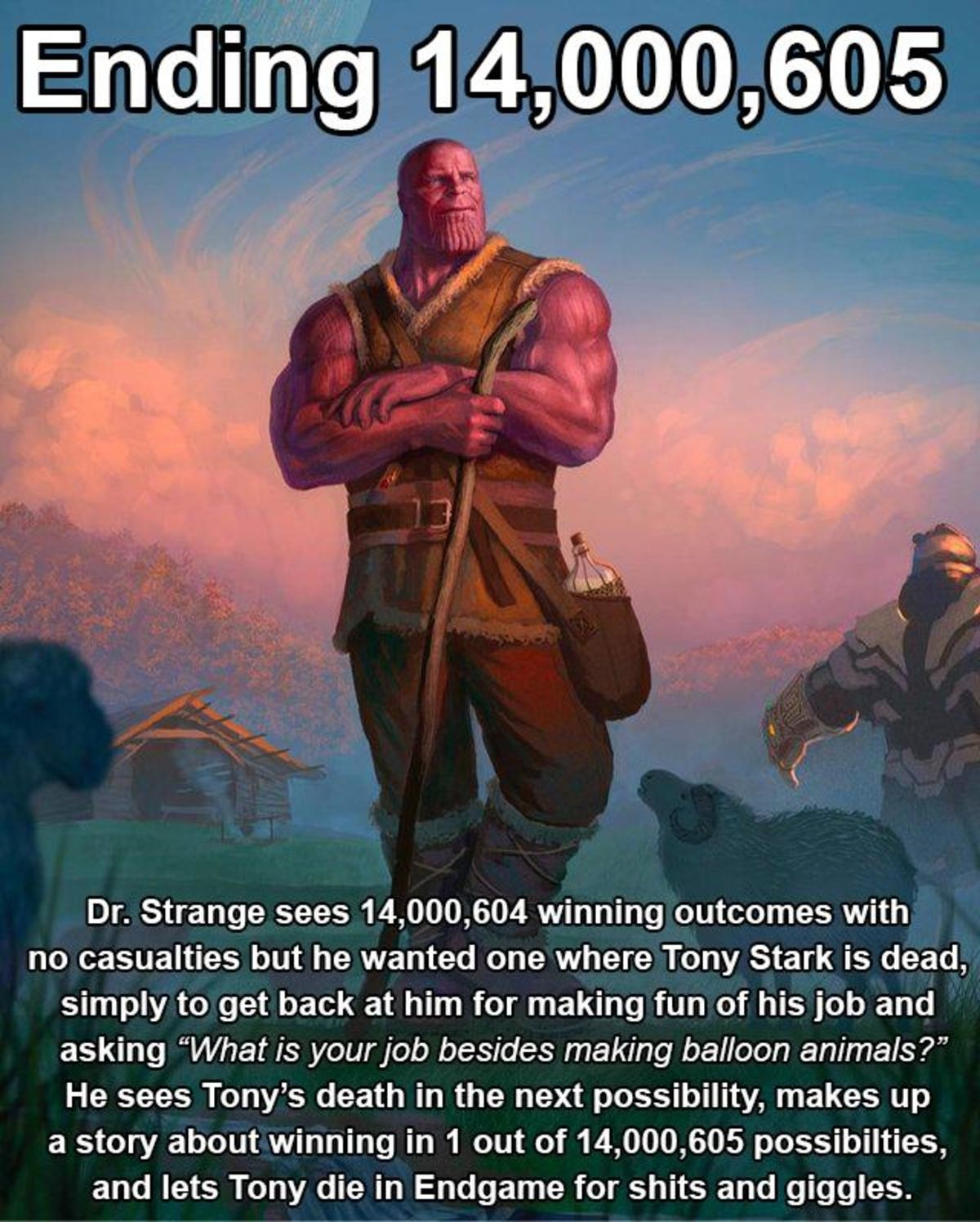 2358. .. Dr. Strange still follows the hippocratic oath. He only harms when he has to.
