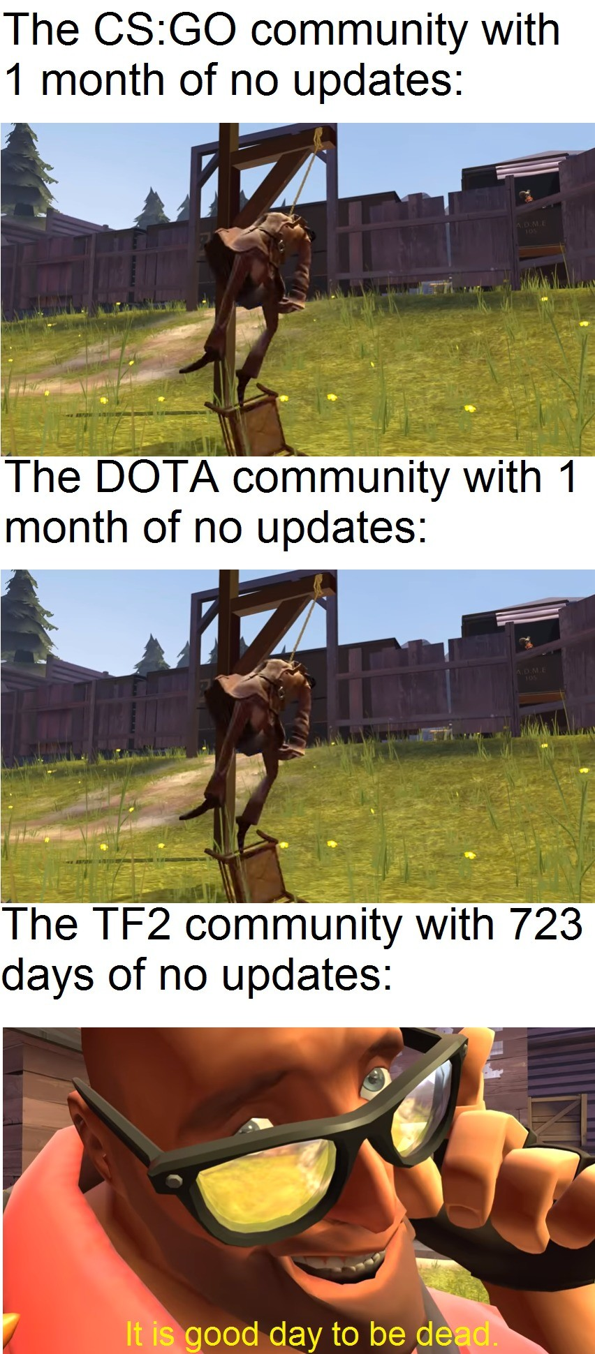 2517. .. tf2 is still the bomb tho. Comment edited at .