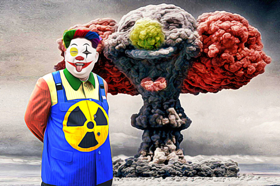 A clown who vanished into the air. North Korea finally has miniaturized and lighter nuclear warhead. It means its ICBM has capability of carrying nuclear weapon