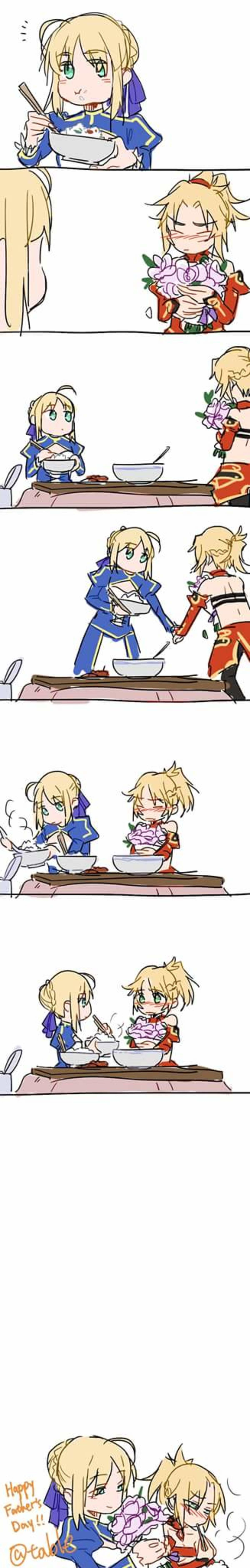 A Little Late But. join list: SmolHol (1445 subs)Mention History join list:. Happy but still kinda sad considering how much Mordred seems to catch at times.
