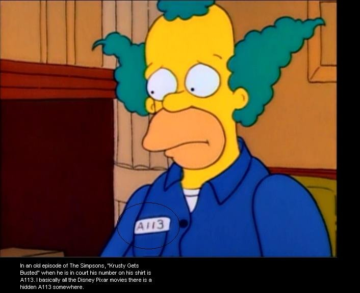 A113 Simpsons. Nuff' said... Im sorry but this is NOT funny