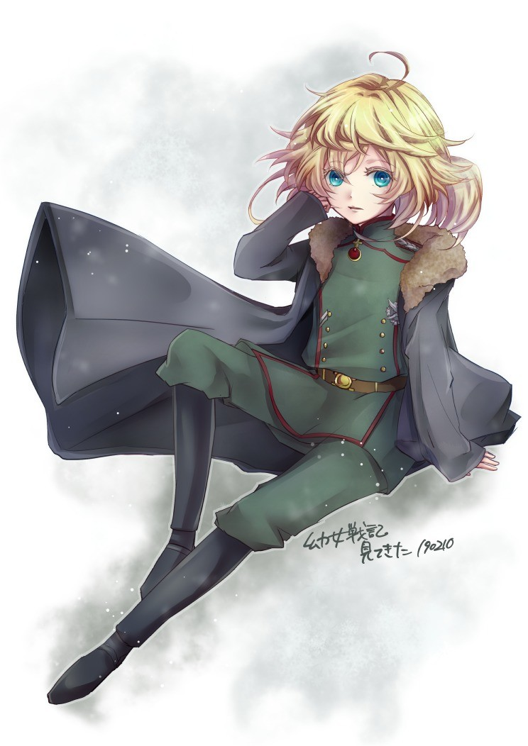 Achtung! Tanya the Evil 40!. .. Being X still refuses to let text work in post... Tanya Turns 40 today wow.  Gathering more youjo senki fans here! Join us! https