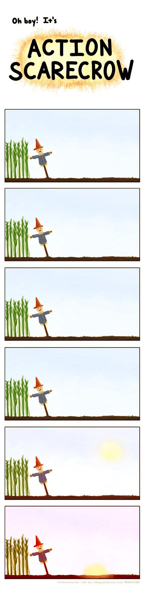 Action Scarecrow. Check tags. SCARECROW. SO BRUTAL!!