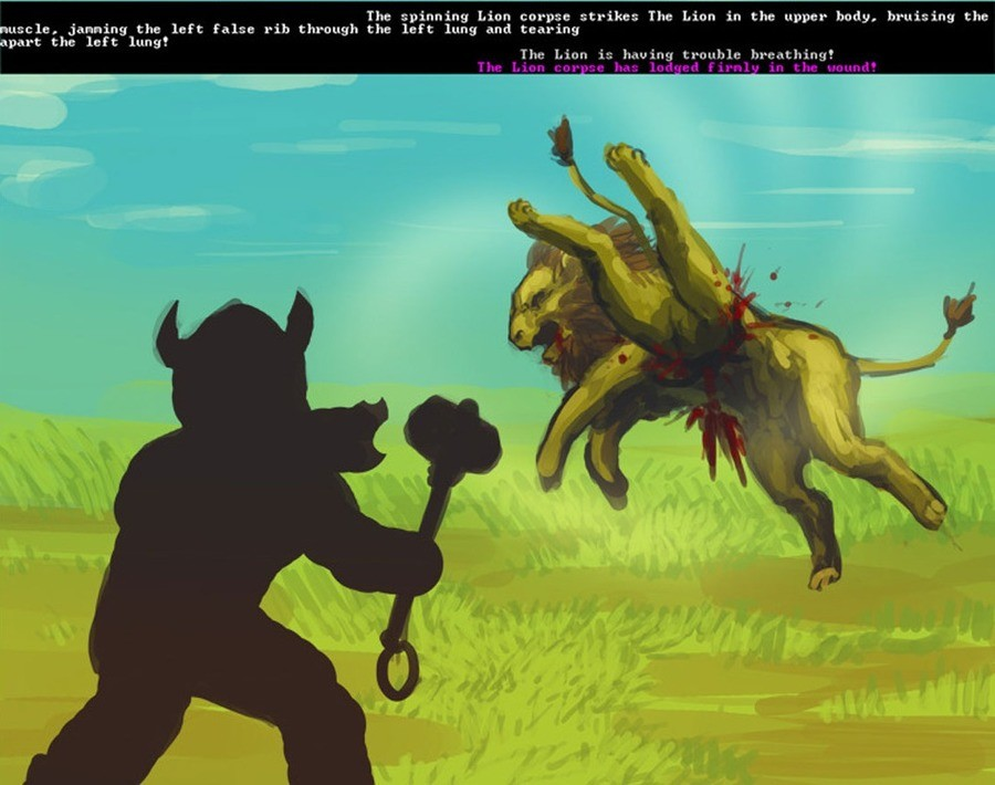 actually known Human. .. Ah yes, dwarf fortress, a game in which you can wrestle a dragon.