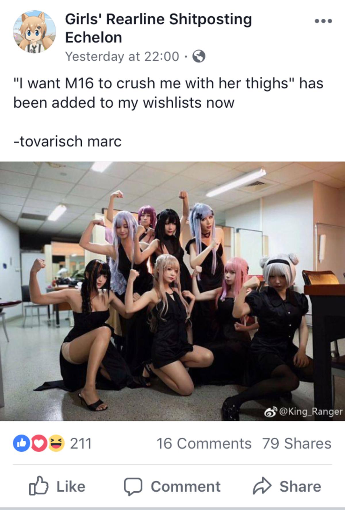 Added to wishlist. https://twitter.com/natsume0v0.. join list: GirlsFrontlineMention History