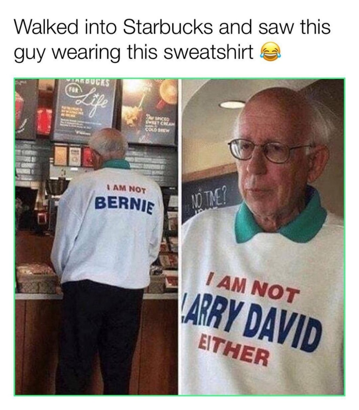 addicted taboo Trout. .. I would completely expect Larry David to go around in public wearing that shirt.