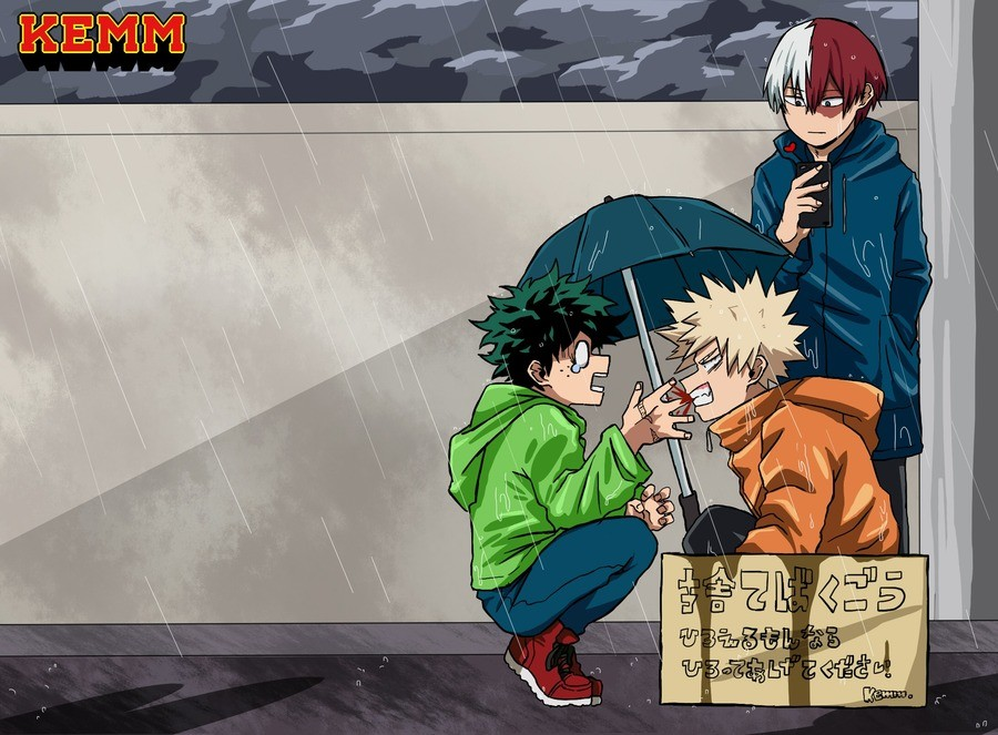 Adopt a kacchan. Source: www.pixiv.net/i/75222786.. Once you've adopted one.
