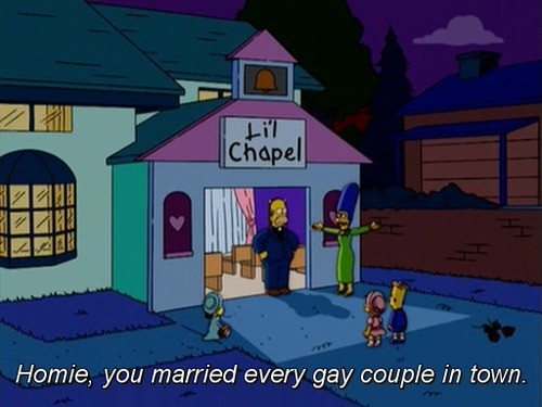 """adventurous acidic Echidna. .. """"There's Something About Marrying"""" Season 16, Episode 10"""