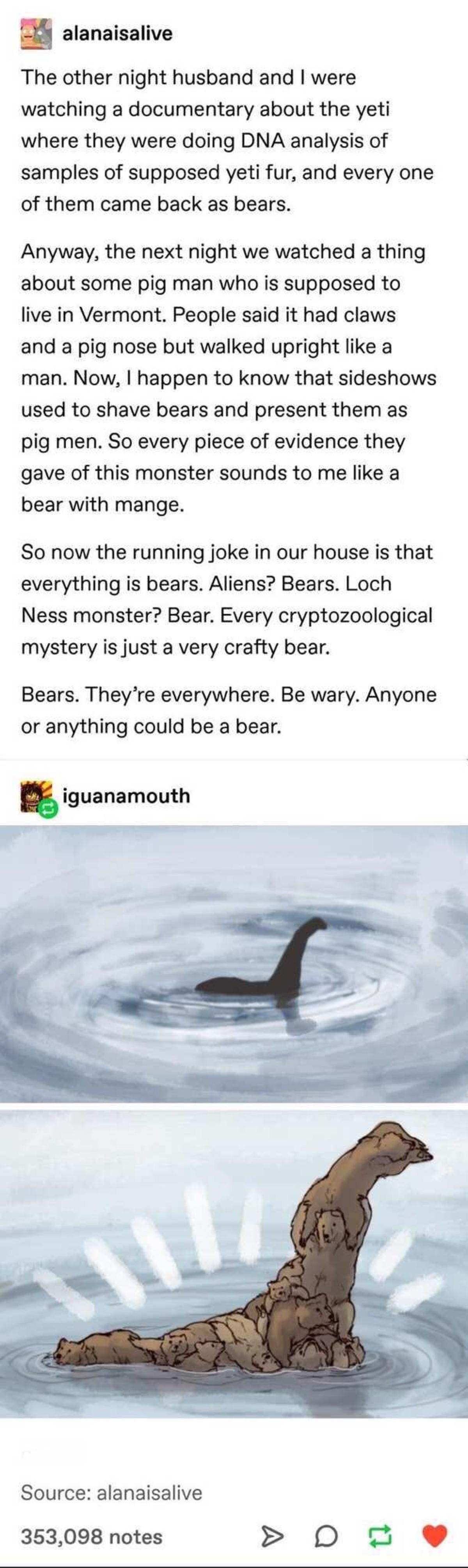 alike conscious innocent Bear. .. A shaved bear, for your curiosity.