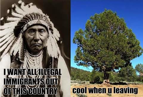 America Belongs To The Trees. Go back to Kamchatka, you snow .. til -I lawn. Native Americans didn't understand ownership because they couldn't maintain ownership over anything that wasn't within the immediate vicinity. Of the tribes who