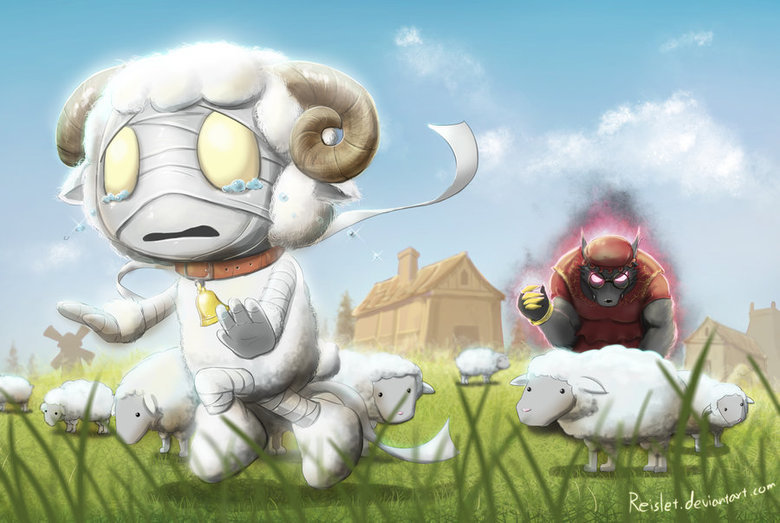 Amumu skin idea: Cottontail Amumu. Found on Deviantart, I just thought that it´s worth sharing, I would buy this in a heartbeat. Source: .. alot of lol posts today
