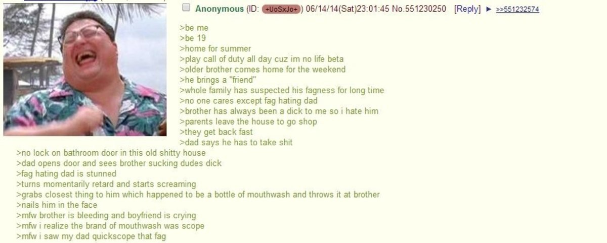 Anon is home for the summer. join list: Chanoholic (310 subs)Mention History.. Fags are not ok. God does not approve.
