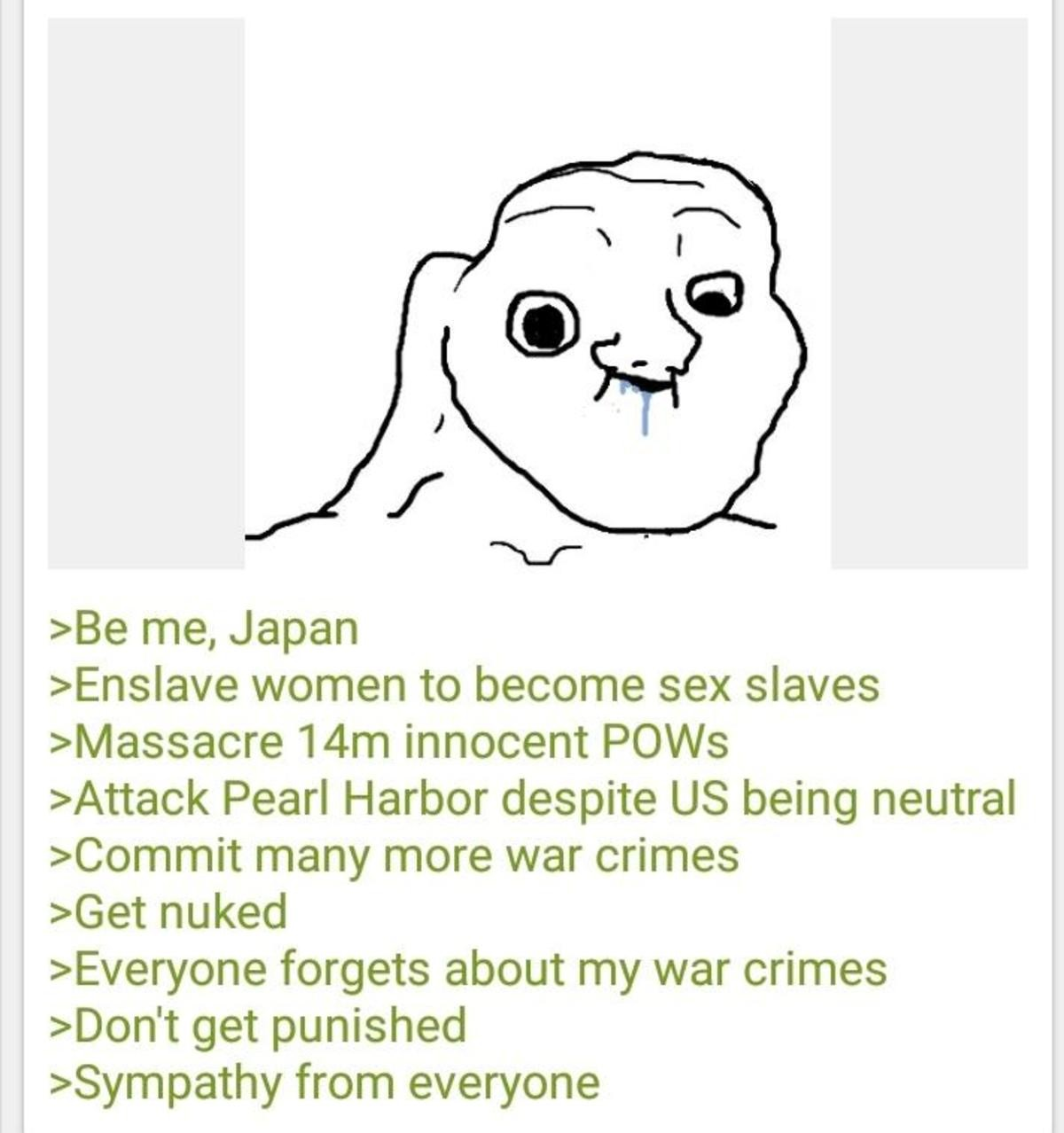 Anon is Japanese. .. why is China posting so much random propaganda everywhere? oh that's right, communists are at planning