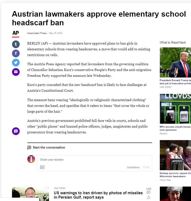 Austria is no Germany. .. The are they going to do? cry about historical racism in Australia? Fortunately Australia is the only country on earth that has never wronged other humans.