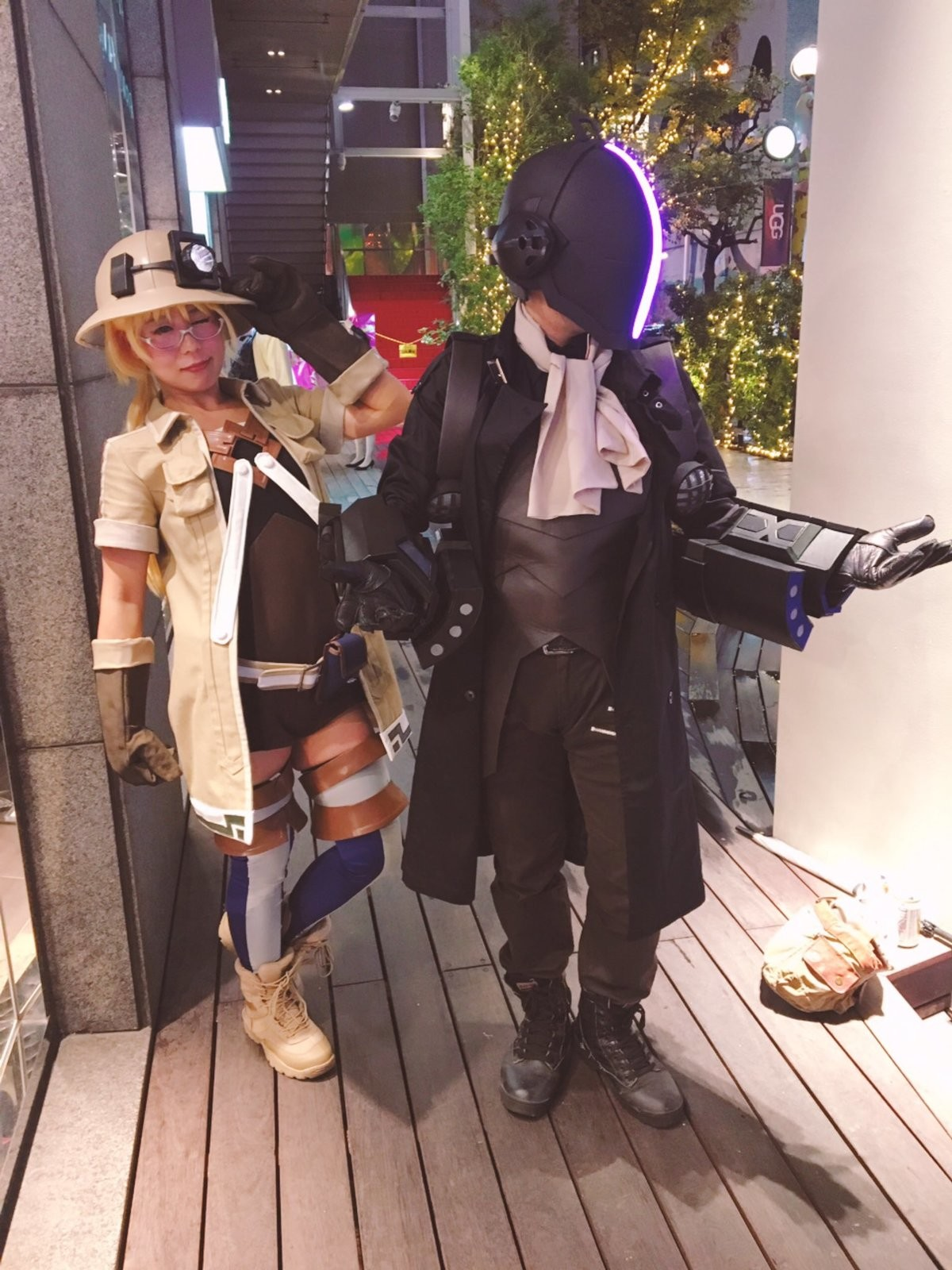 awesome cosplay. reminder papa daft punk did nothing wrong.. Just keep him away from the elevators.