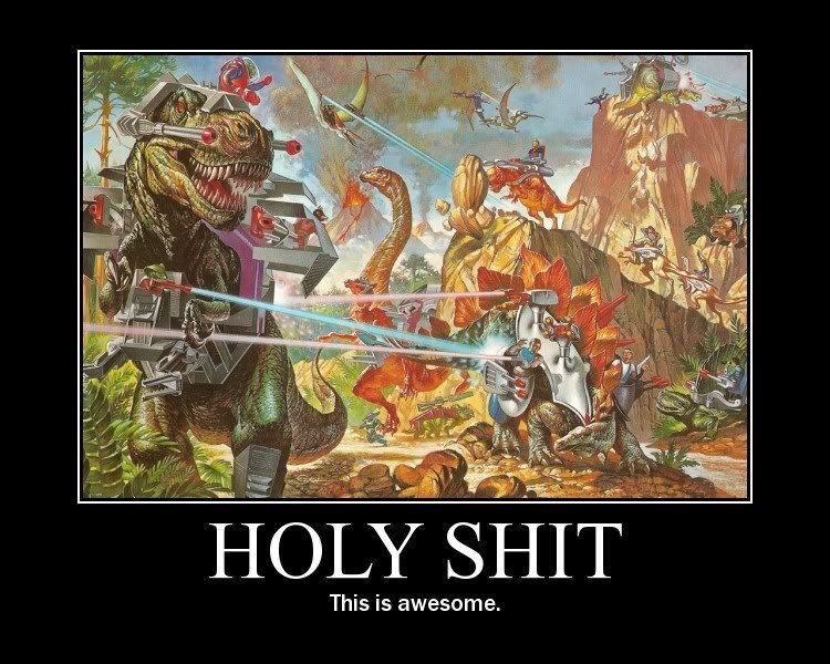 Awesome Dinosaurs. . SHIT This is awesome.