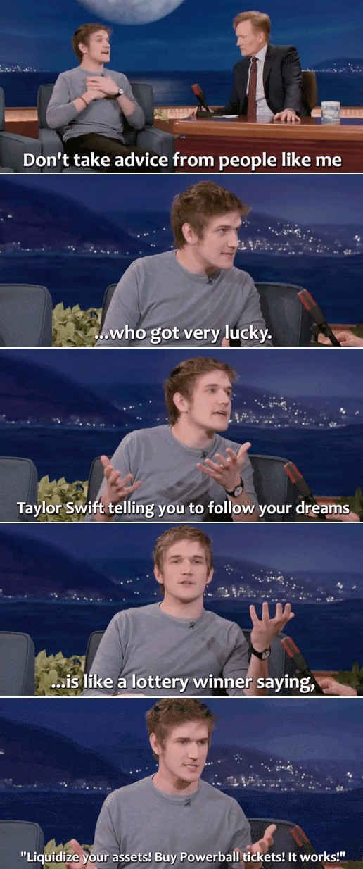 Bad Advice. .. bo burnham is legitimately hilarious, one of my favorite comedians