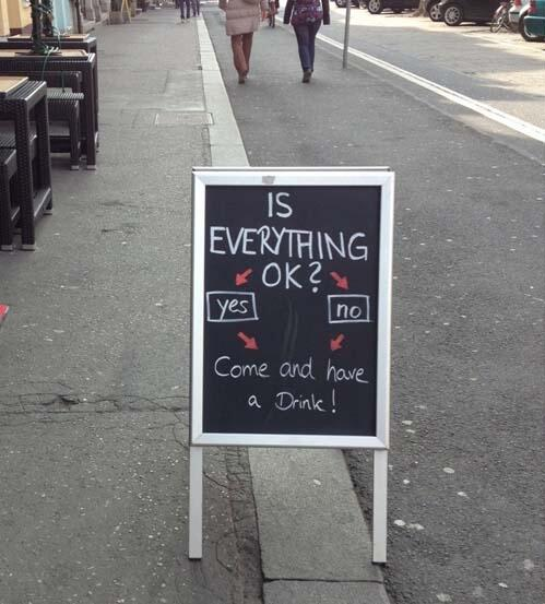 Beer. Perfect for every situation..