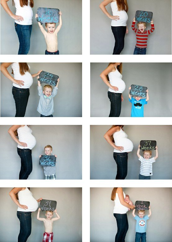 Best pregnancy time-lapse ever. .. ..... this is not funny