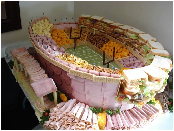 Best Super Bowl Party Idea. .. I've seen a video of something like this being made on a porn site I was very confused.
