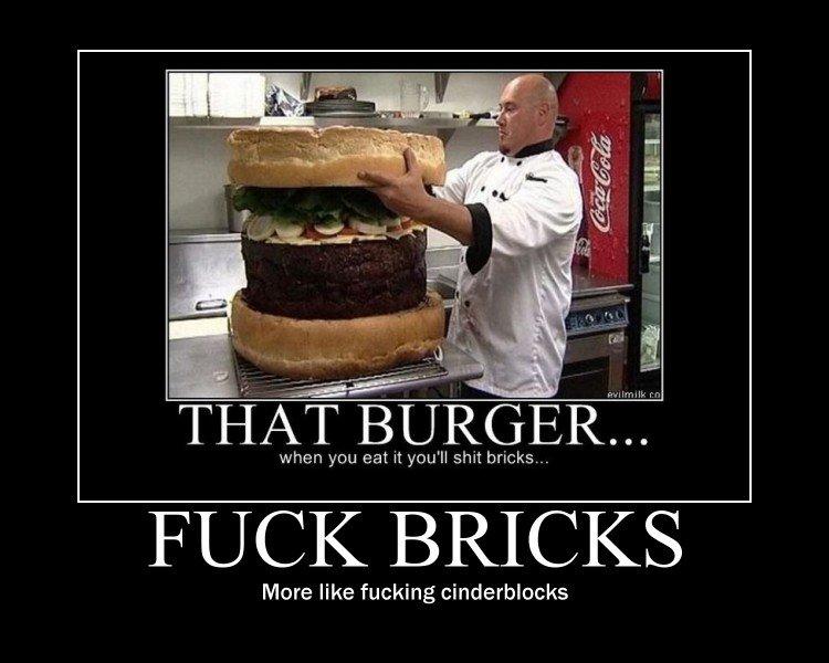 bricks. .