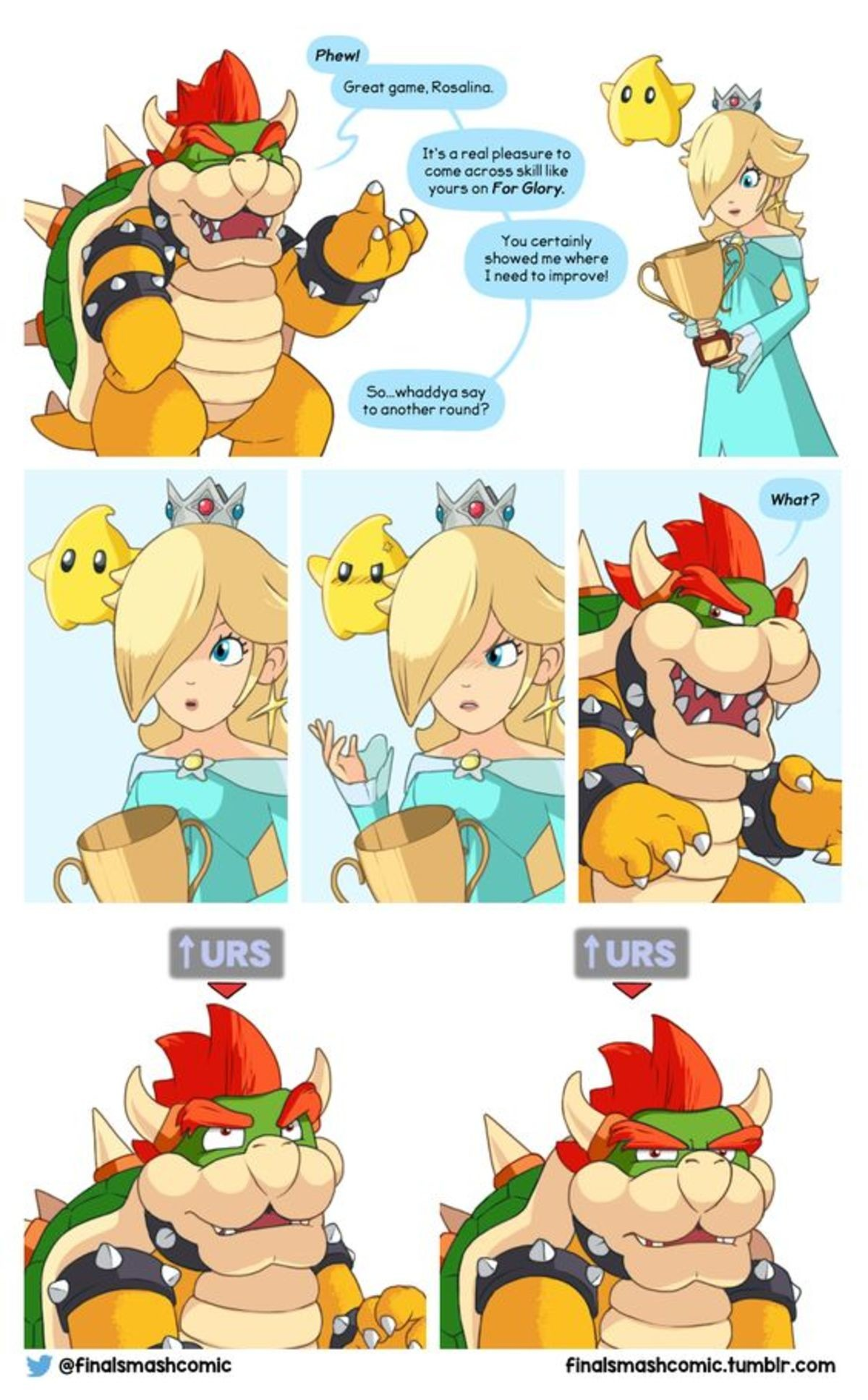 bowser. .. You say that like Bowser didn't have the best grab game in Sm4sh.