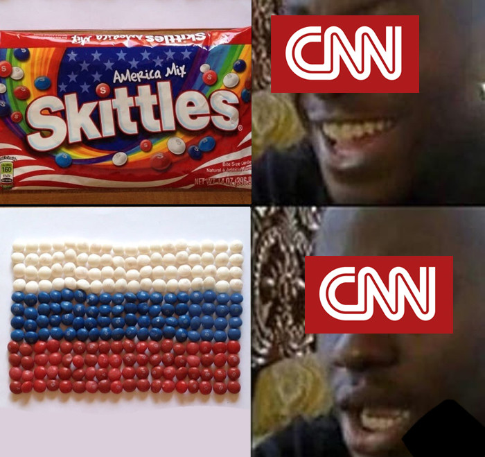 Breaking! CNN finds new ties with Russia. .. you america!