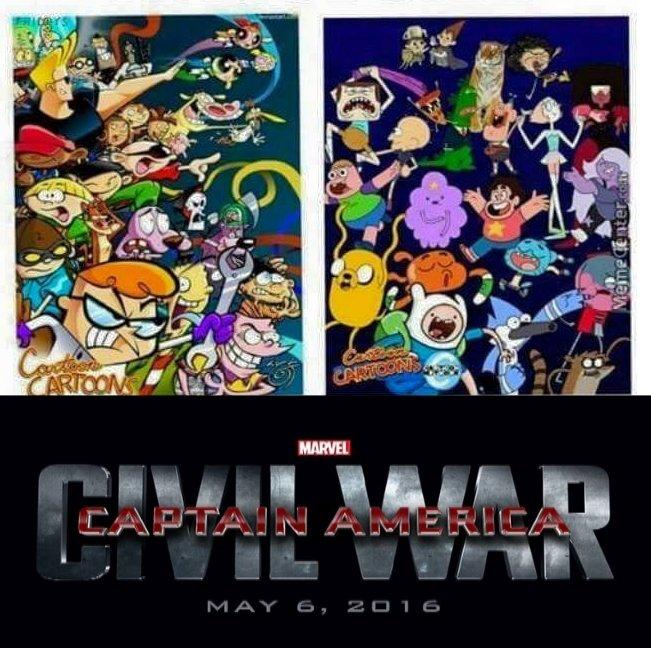 Cartoon Network Civil War