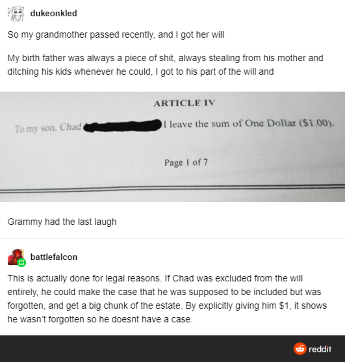 Chad Slammed By Granny. .. same energy