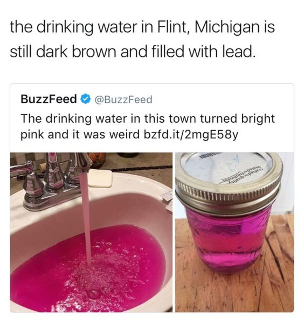 Chemicals Are Turning The Water Gay!. .. Then they shouldn't have voted in a Democrat Negress whose first action was to give herself a pay raise.