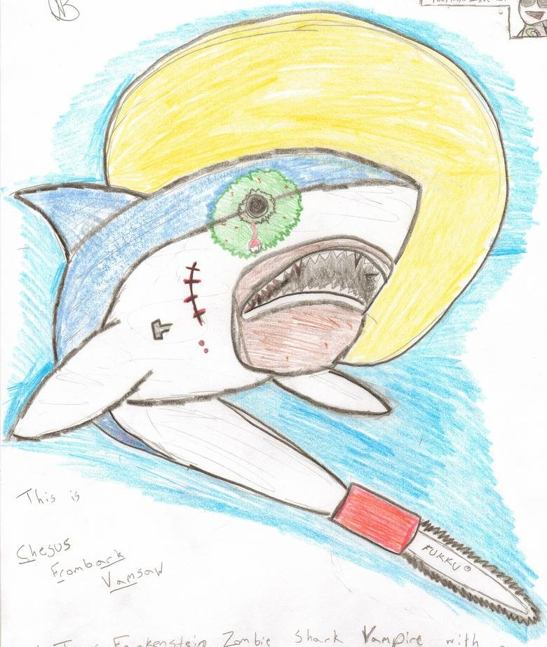Chesus Frombark Vamsaw. I got bored...not really funny, id just thought youd enjoy something this epic.