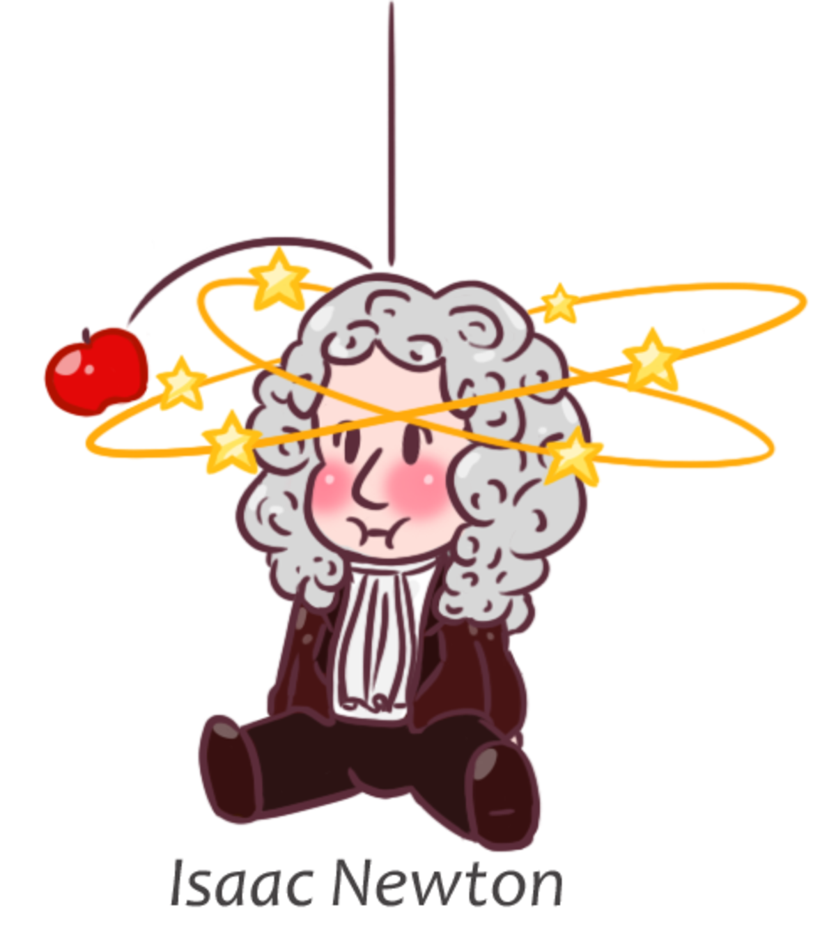 chibi Isaac Newton. For this week in chibi Tuesday Isaac Newton. The first and foremost thing that any chibi series is meant to be is cute. I may take some crea