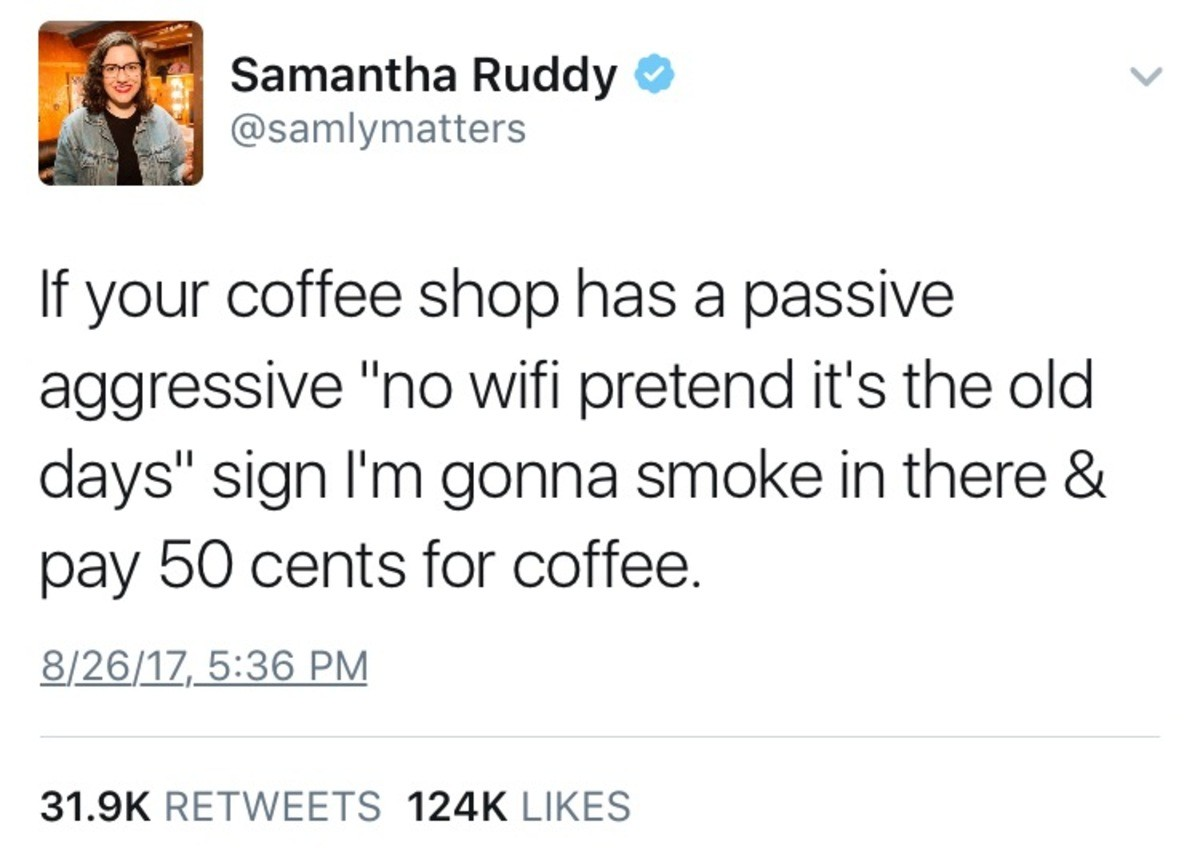 Coffee Shops. .. Fixed