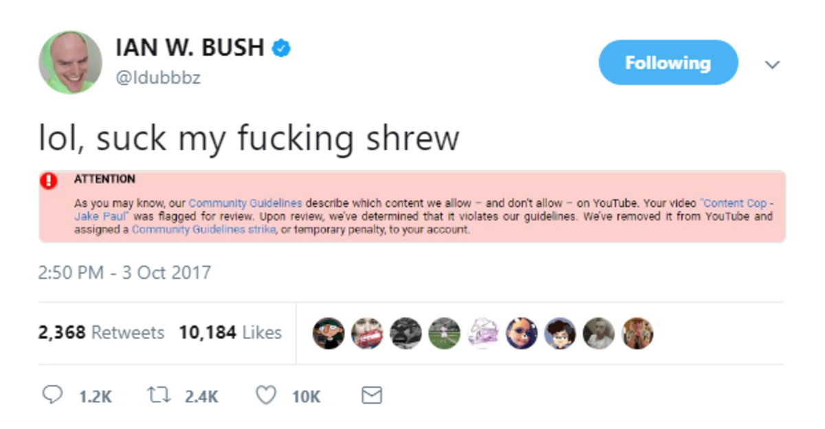 Content Cop Taken Down. . Nei' bl, suck my fucking shrew 2: 50 Phd - 3 Oct 2017. Update