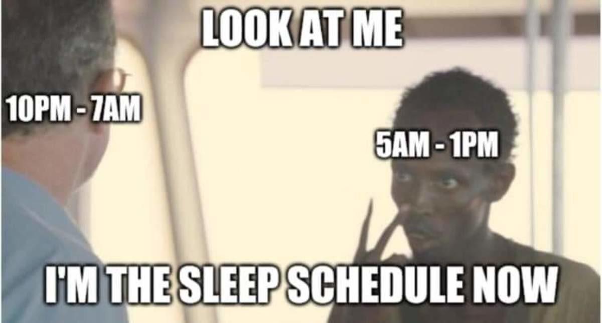COVID ing peoples sleep schedule. .. 7am - 3pm #nightshift
