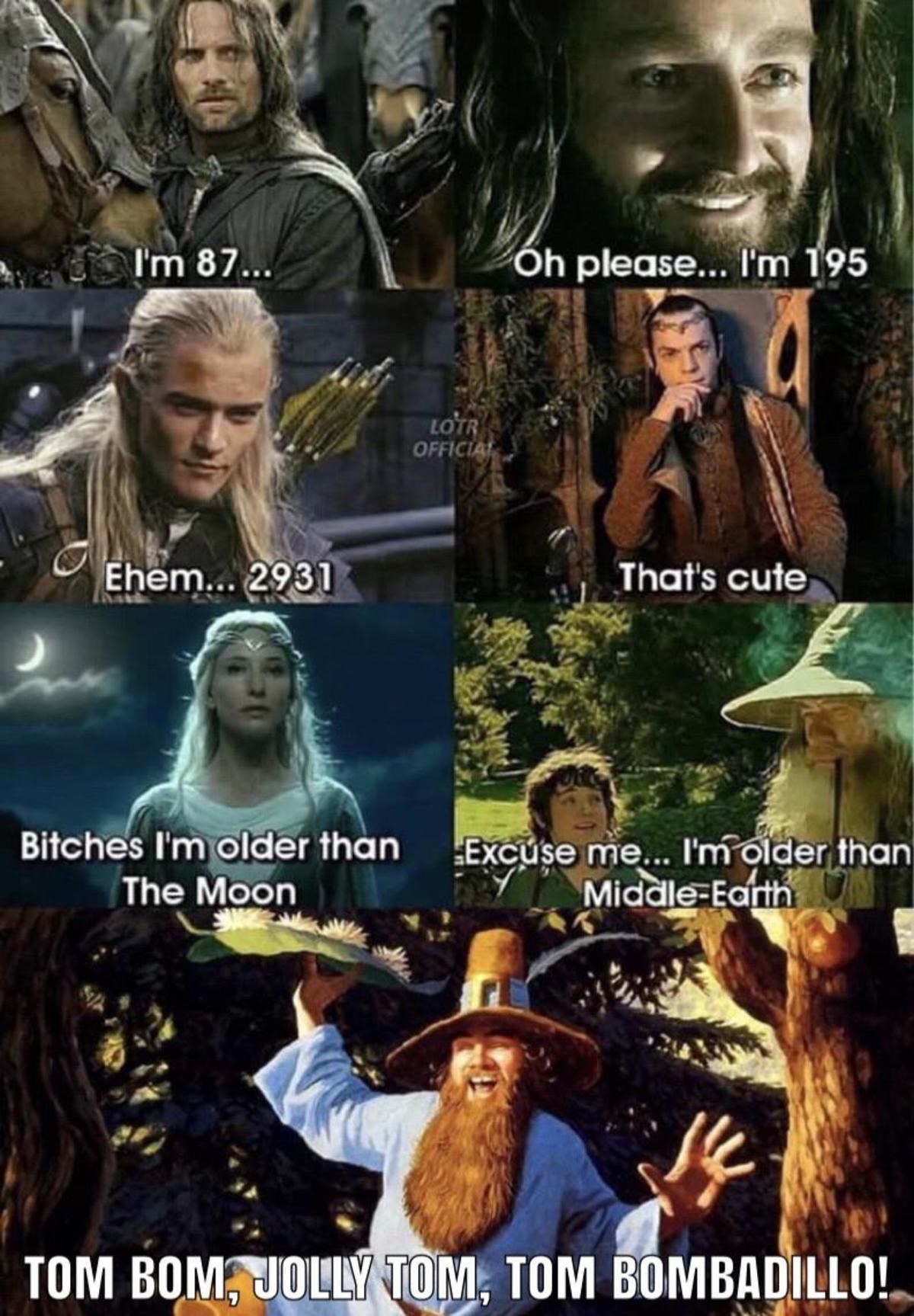 """crash bounded traveled Cheetah. .. Gandalf: """"Treebeard is the oldest being in the entire Middle Earth"""""""