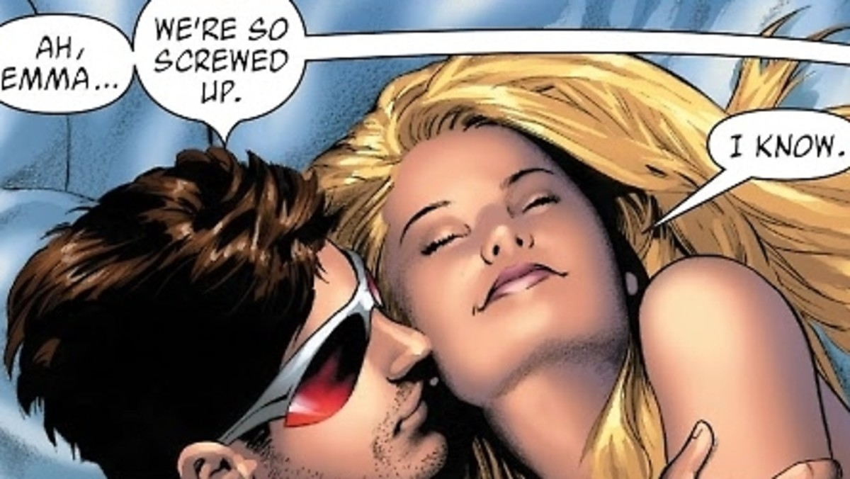 Crazy attract. Emma frost is adorable for a crazy bitch.