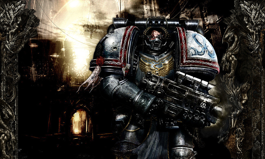 Creative BS: The Spacemarine. In darkness, i shall be light. In times of doubt, i shall keep faith. In throws of rage, i shall hone my craft. In vengeance, i sh