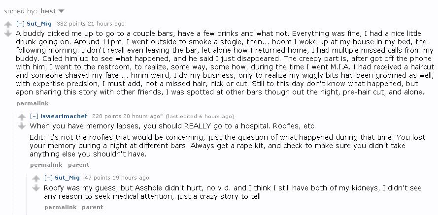 Funny sex stories reddit